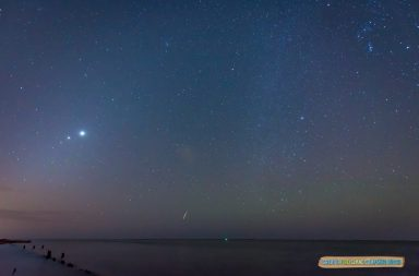 Photos above taken over the Great South Bay, October 22, 2015 Mike Busch